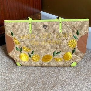 When life gives you lemons Kate spade bag
